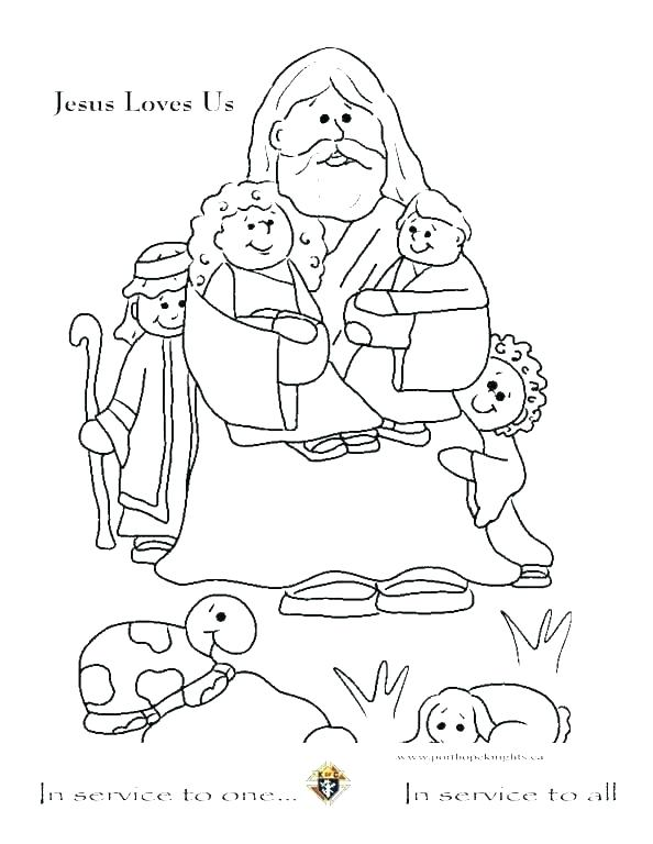 594x768 Jesus And Children Coloring Page Coloring Pages Disney Princesses