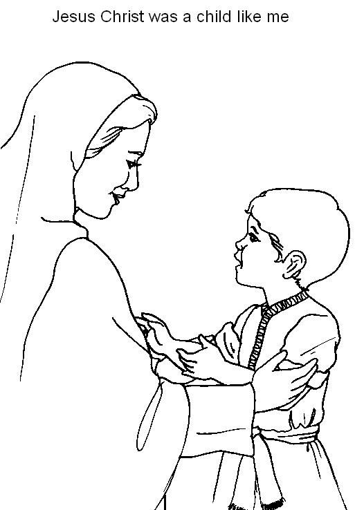 513x738 Jesus As A Boy Coloring Pages, Boy Jesus In The Temple Coloring