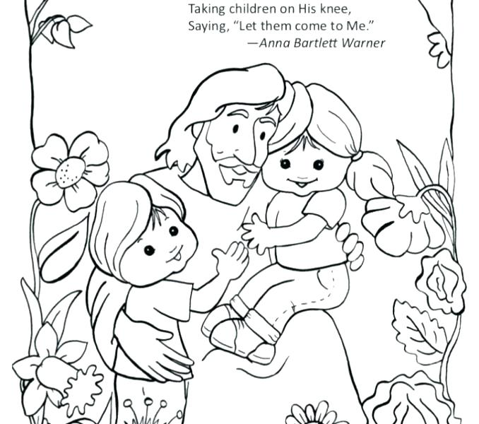 678x600 Jesus Coloring Page And Children Coloring Page For Loves