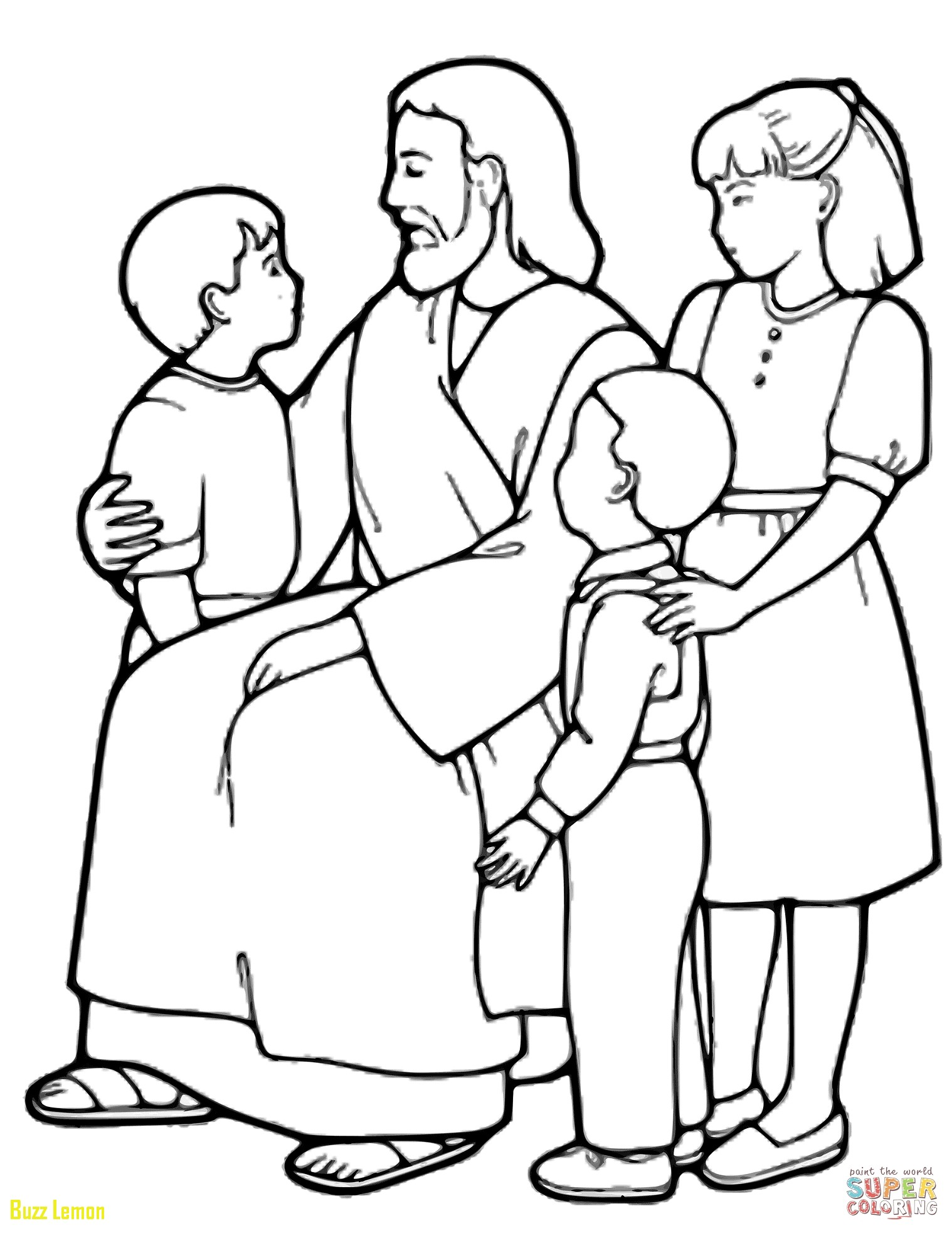 1518x1965 Coloring Page Jesus Unique Jesus With Children Coloring Pages
