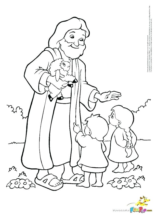 640x887 Childrens Coloring Pages Of Jesus Page Together With Loves