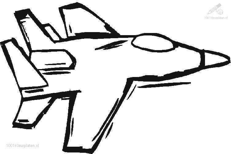 756x504 Jet Airplane Coloring Pages