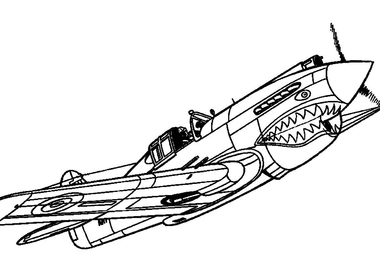 1224x900 Best Plane Coloring Page Revolutionary Airplane Pictures To Color