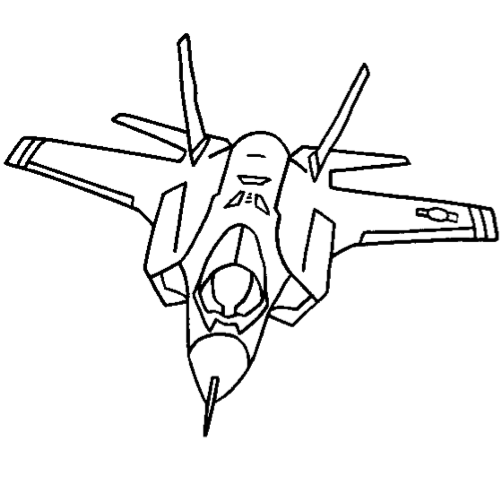 501x479 Jet Coloring Page Coloring Book