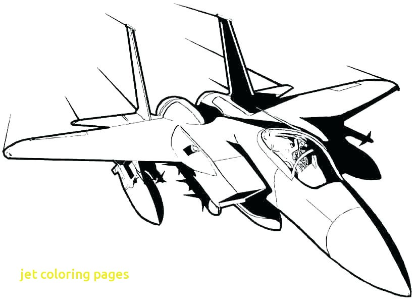 824x600 Jet Coloring Pages With Fighter Jet Coloring Page Airplane