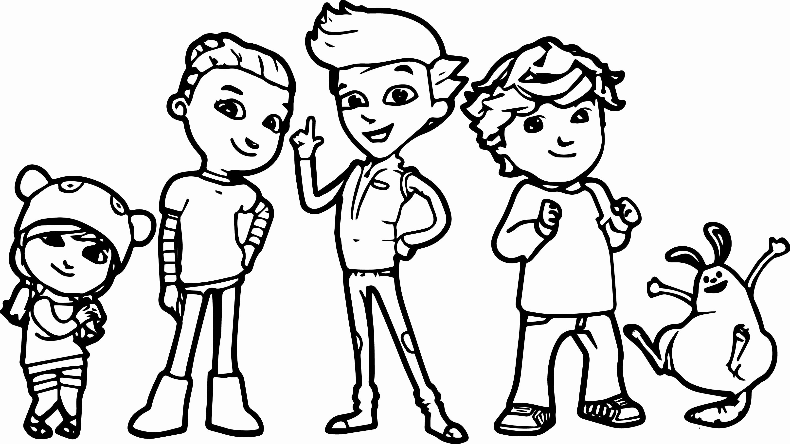 3204x1802 Pbs Kids Coloring Pages With Ready Jet Go Page