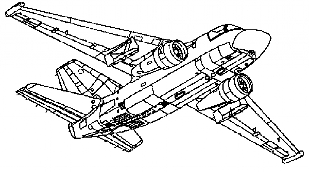 1024x571 Jet Fighter Coloring Pages Jet Coloring Page