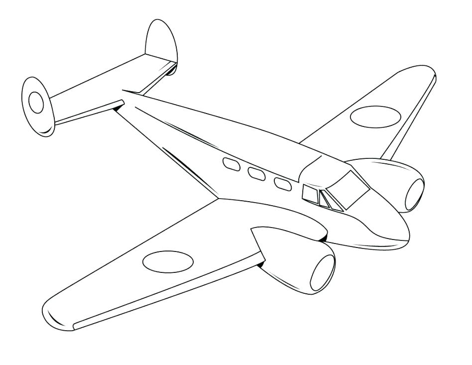 948x733 Coloring Pages Printable Airplane Coloring Pages For Kids Coloring