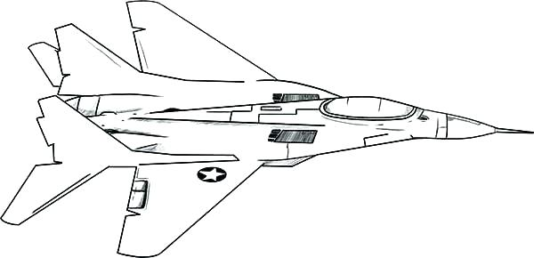 600x290 Marine Corps Coloring Pages Jet Coloring Pages Printable A Is