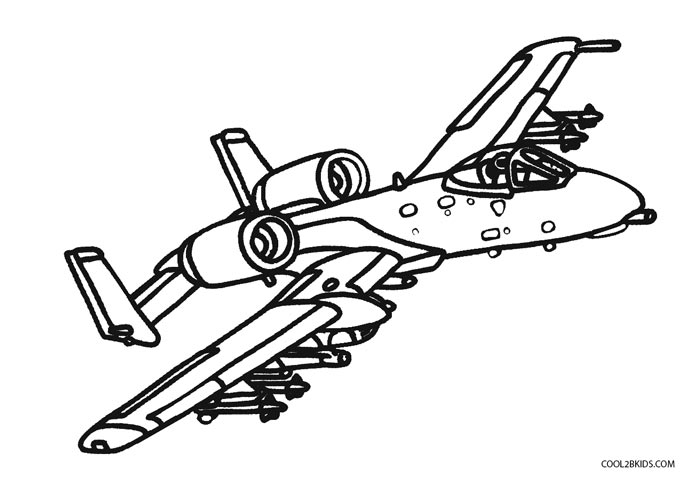 700x482 Free Printable Airplane Coloring Pages For Kids