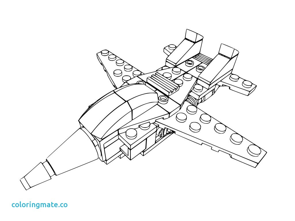 1024x768 Lego Jet Coloring Pages Printable Inspirational Jets
