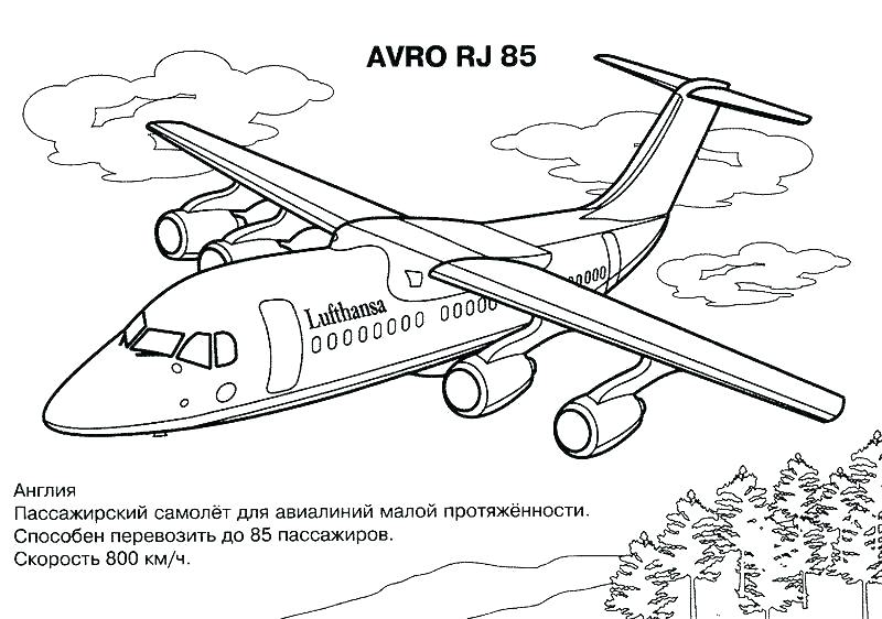 800x562 Plane Coloring Page Airplane Coloring Page Jet Coloring Pages