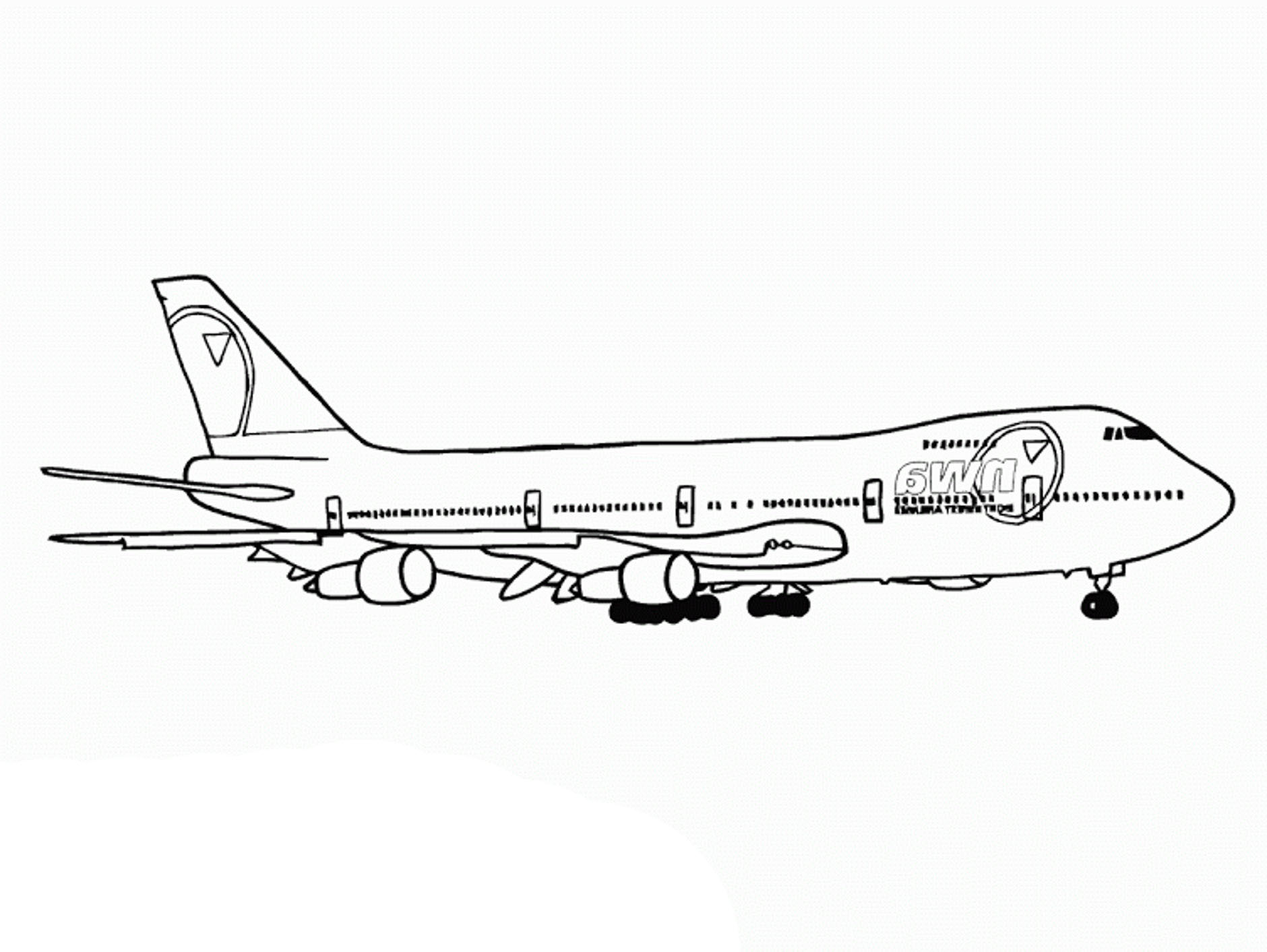 1880x1413 Unparalleled Airplane Pictures To Print Jet Coloring Pages