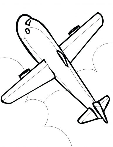 386x500 Coloring Pages Jet Coloring Pages Printable Airplane A Jetblue