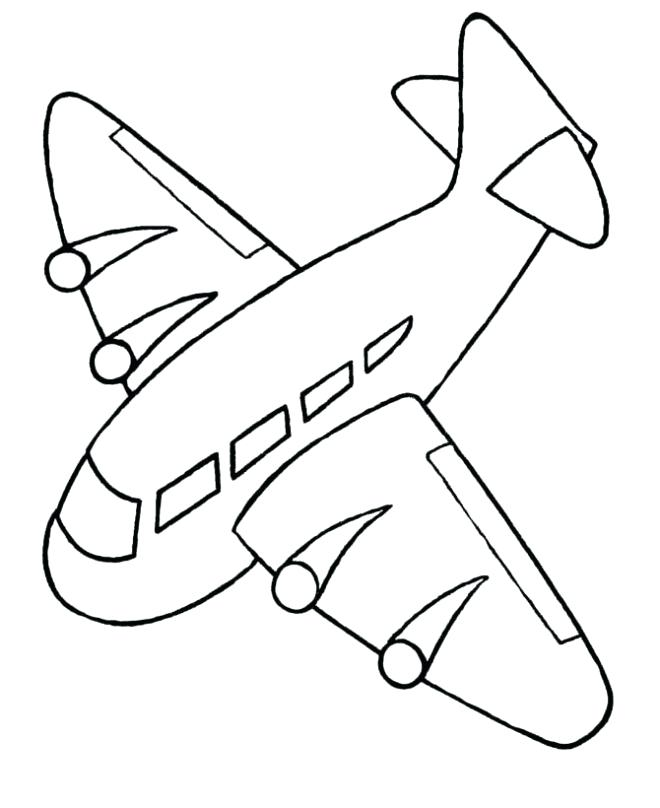 660x808 Plane Coloring Pages Airplane Coloring Pages For Kids Jay Jay Jet