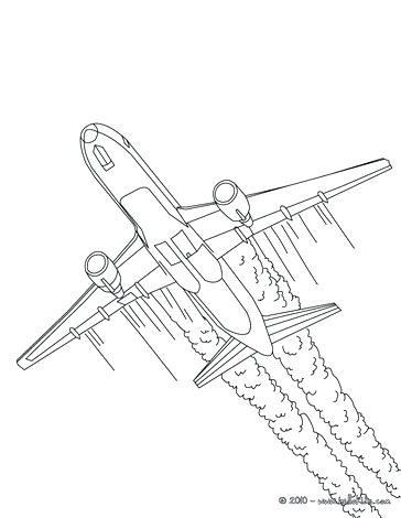 364x470 Plane Coloring Pages Military Plane Plane Take Off Coloring Page