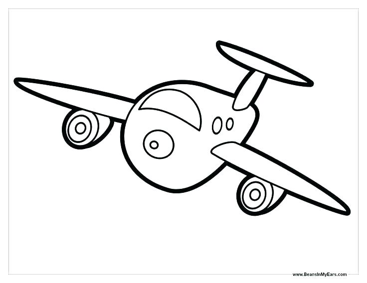 736x568 Planes Coloring Pages Plane Coloring Page Printable Airplane