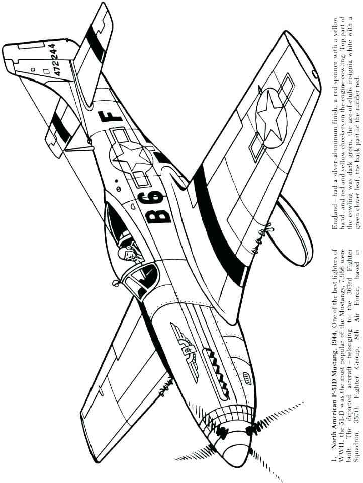 722x960 Jet Coloring Pages
