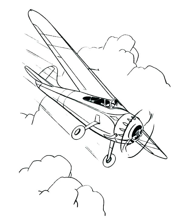 600x734 Coloring Airplane Plane Coloring Pages Air Plane Coloring Pages