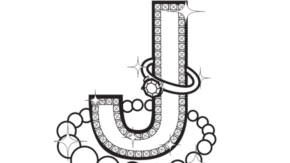 Jewelry Coloring Page