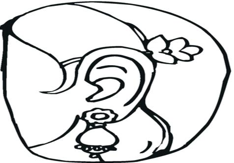 476x333 Jewelry Coloring Pages Coloring Trend Medium Size Earrings Gold