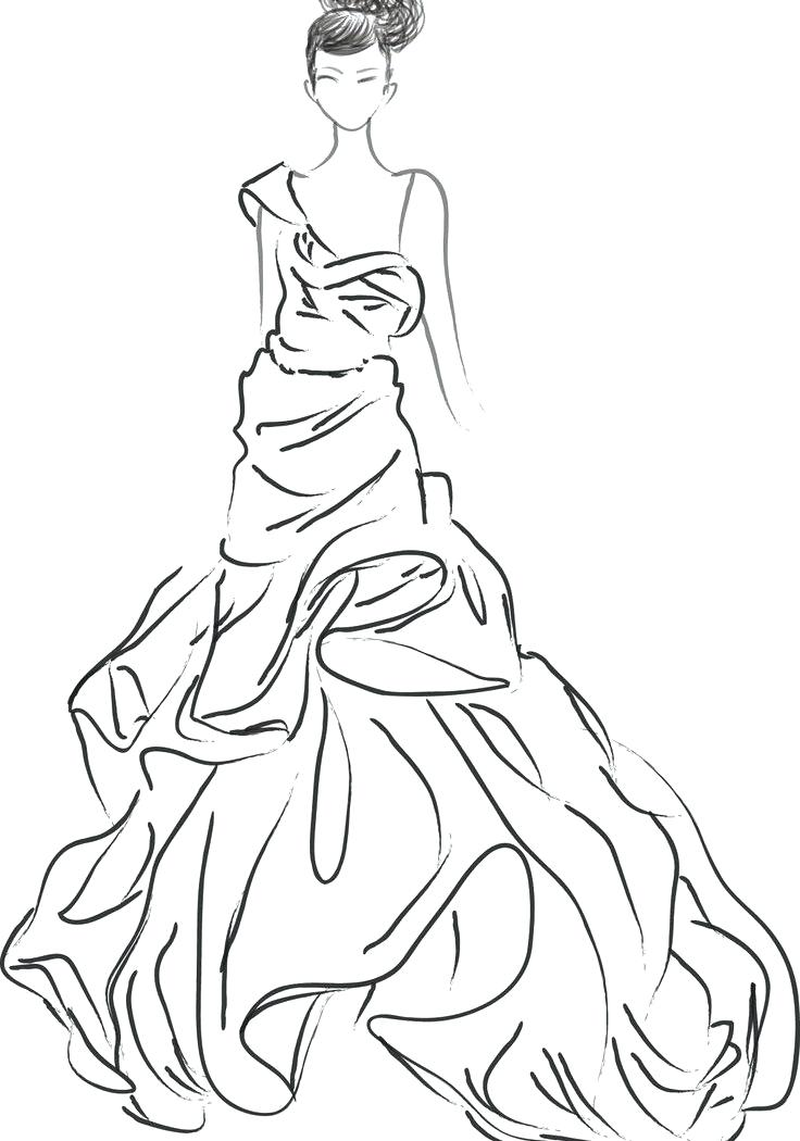 736x1050 Jewelry Coloring Pages Elegant Fashion Coloring Page For Your