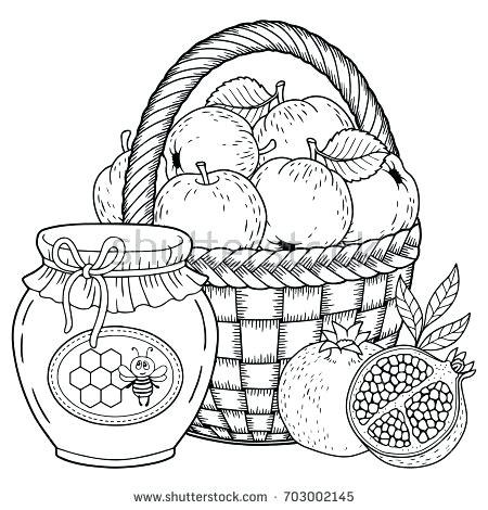 450x470 Jewish Coloring Pages Coloring Pages Jewish Holiday Printable