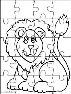 236x314 Printable Jigsaw Puzzles To Cut Out For Kids Animals Coloring