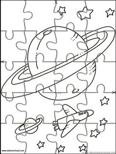 236x314 Printable Jigsaw Puzzles To Cut Out For Kids Space Coloring