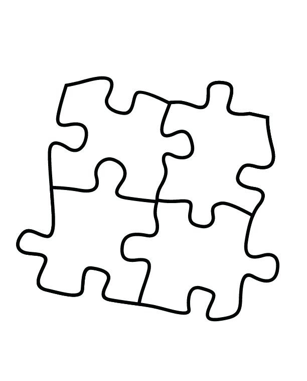 612x758 Puzzle Coloring Page Puzzle Coloring Pages Jigsaw Piece Page