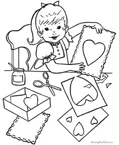 236x288 Valentine Printable Free Clipart Hearts Cartoons And Coloring