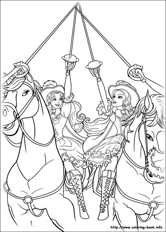 567x794 Best Barbie Coloring Pages Images On Coloring Books