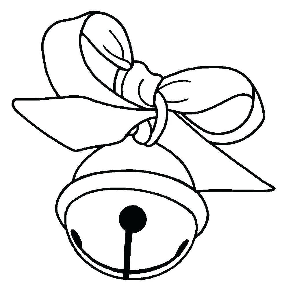 983x1000 Christmas Bells Coloring Pages Page Free Exceptional Acpra
