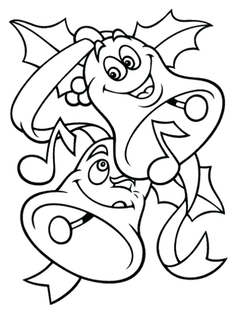 768x1016 Download Free Coloring Pages For Bells For Kids Or Print Bells