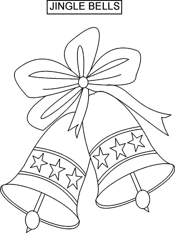 600x798 Jingle Bells Coloring Pages Bell Coloring Pages Coloring Pages