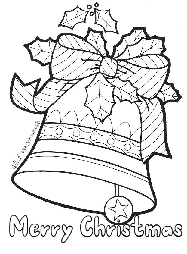 622x843 Bells Coloring Pages Jingle Bells Coloring Pages Hand Bell