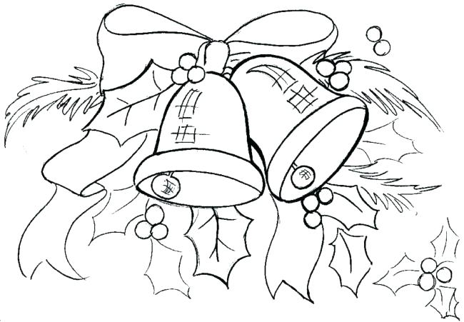 650x451 Bells Coloring Pages Jingle Bells Coloring Pages Jingle Bells