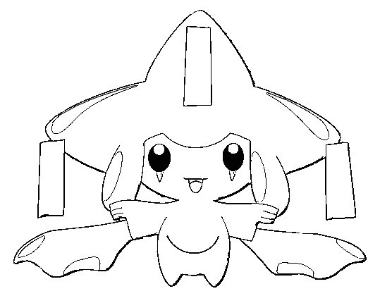 Jirachi Coloring Pages At Getdrawings Free Download