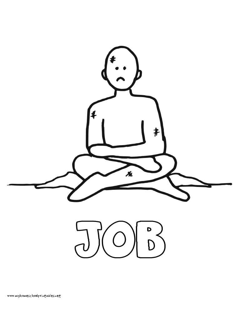 Job Coloring Pages At Getdrawings Com Free For Personal Use Job
