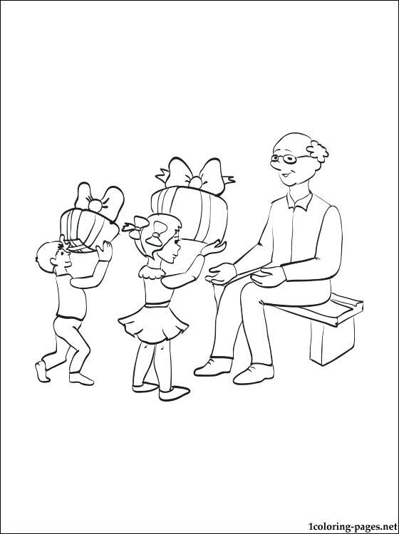 560x750 Grandparents Coloring Pages Grandma Coloring Pages Grandma Making