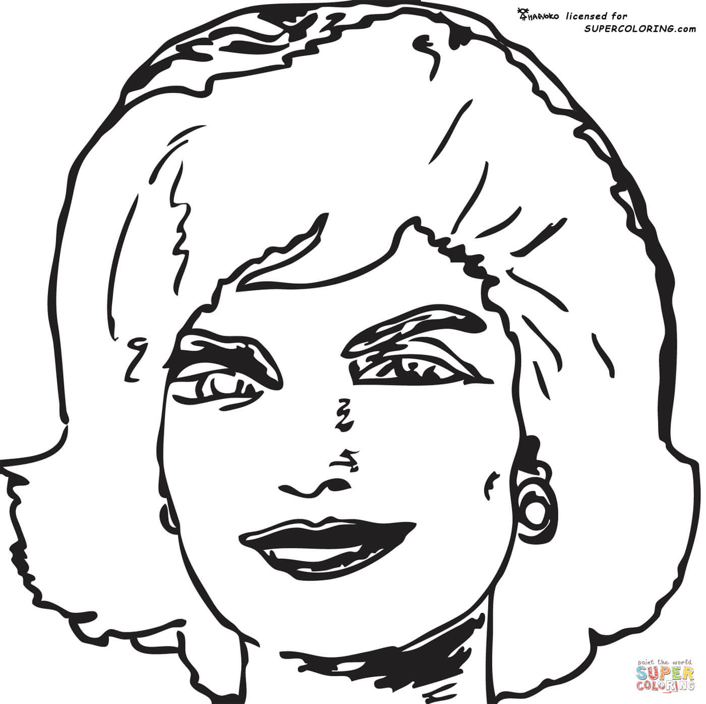 1400x1397 John Cena Coloring Page Kennedy Pages Sheets Marvelous For F