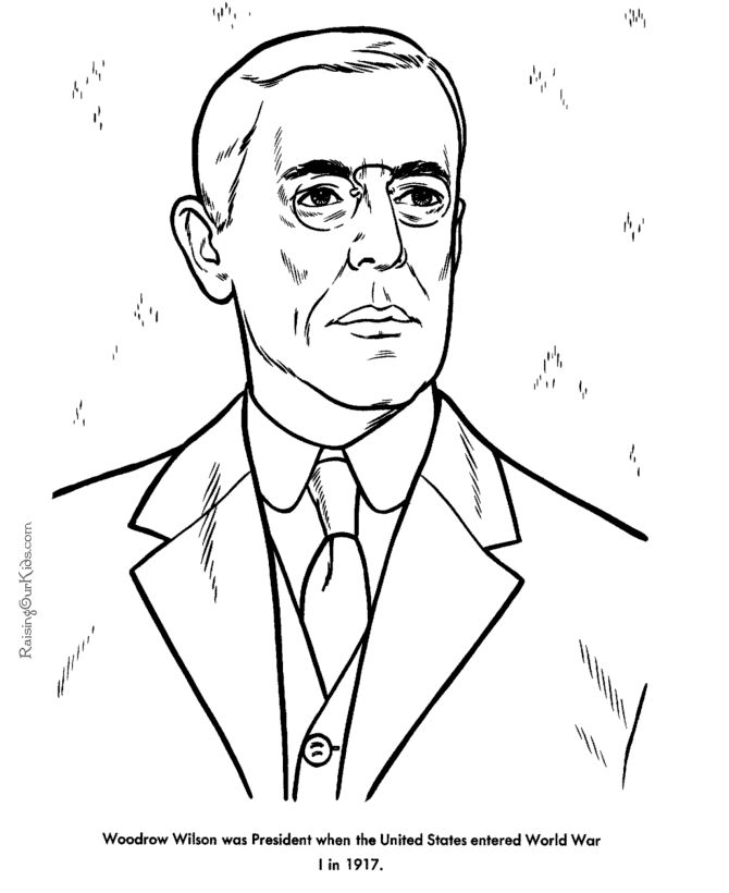 670x820 Presidents Coloring Pages