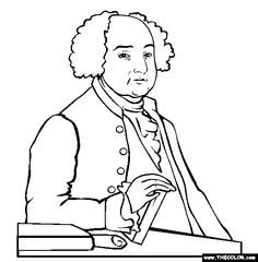 236x240 Presidential Coloring Pages
