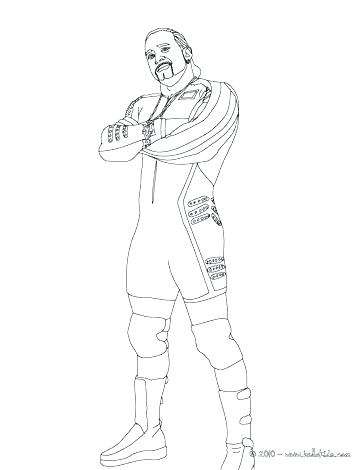 364x470 John Cena Coloring Pages John Coloring Page Wrestler Coloring