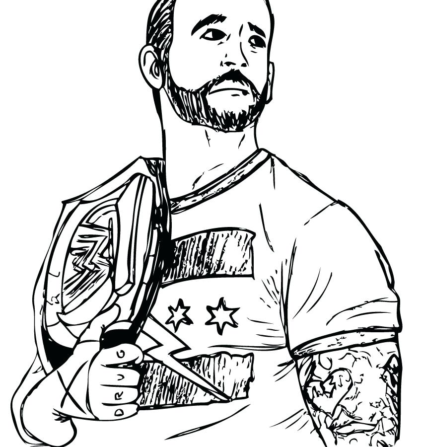 848x900 John Cena Coloring Pages John Coloring Pages To Pictures Colour