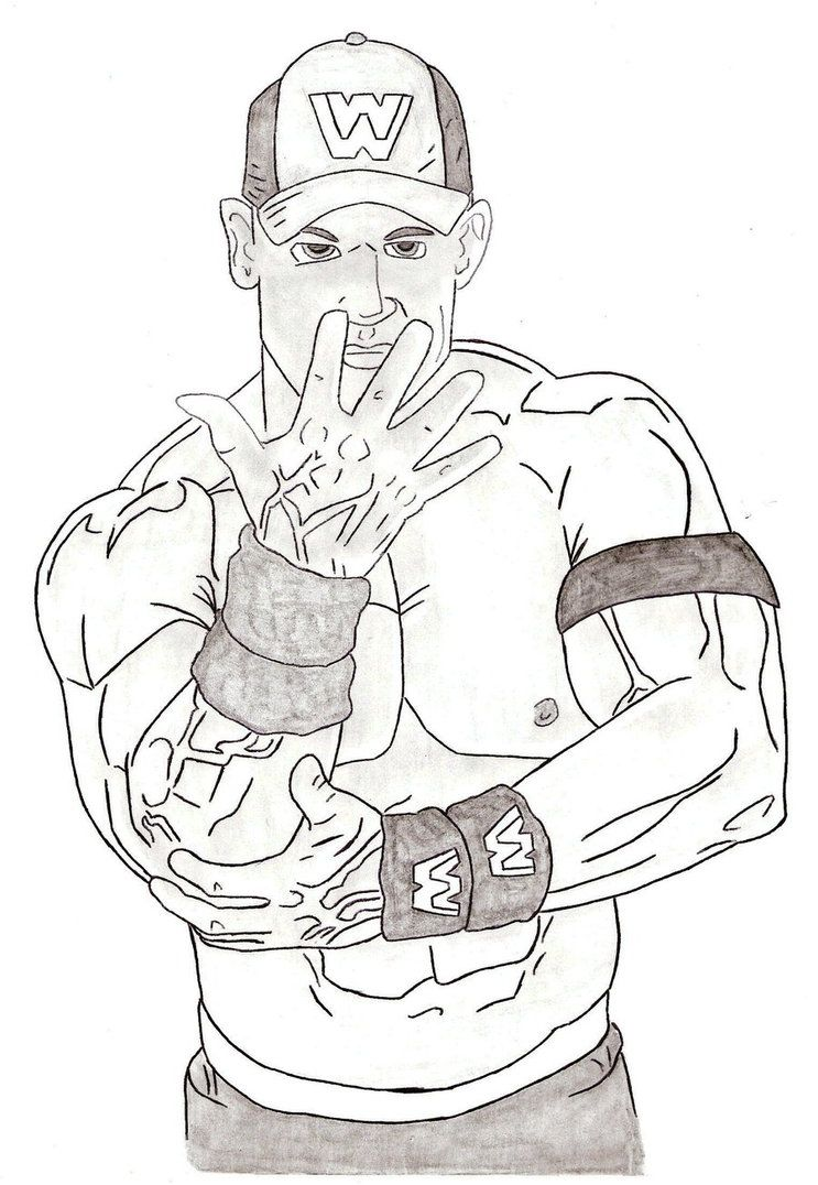 743x1076 John Cena Coloring Pages With Wallpaper Iphone Mayapurjacouture