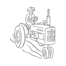 John Deere Colouring Pages To Print