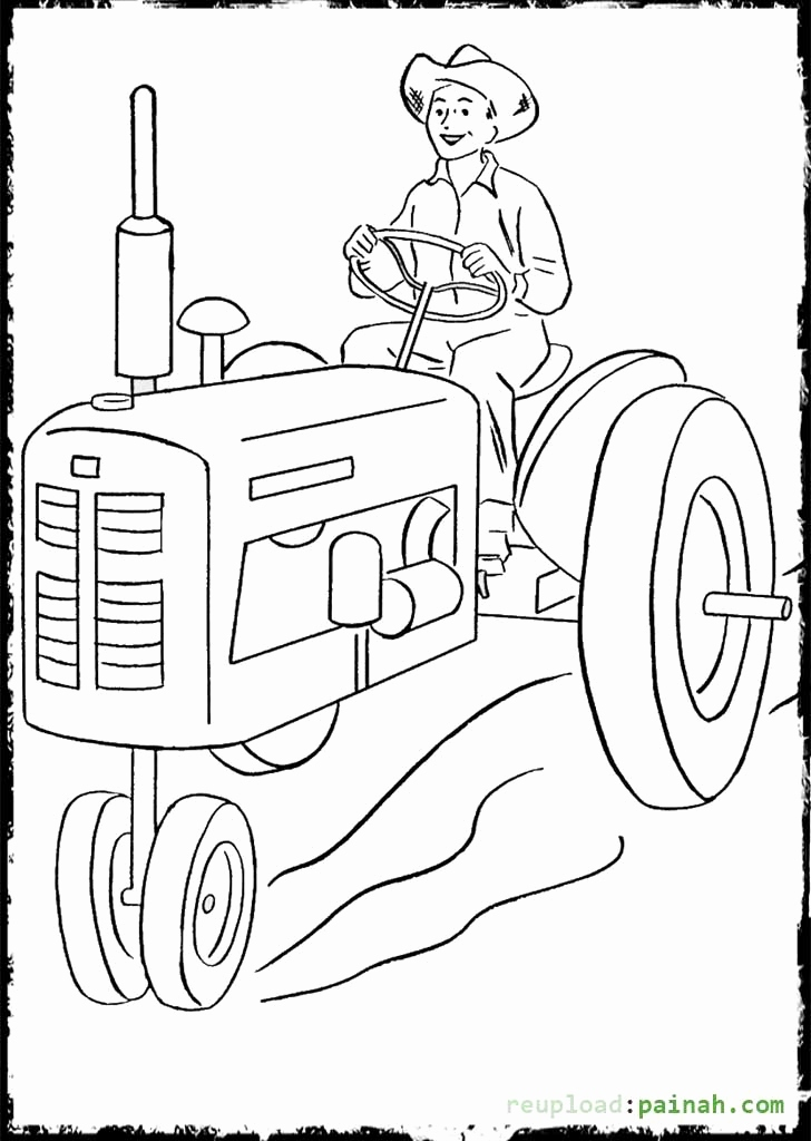 728x1024 John Deere Coloring Pages Gallery John Deere Coloring Pages