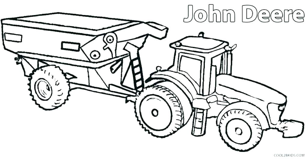 John Deere Colouring Pages To Print At Getdrawings Com