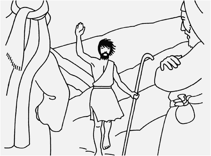 827x609 The Perfect Collection Baptism Coloring Pages Trendy